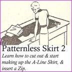 patternless skirt 2