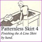 patternless skirt 4