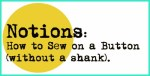sew on buton