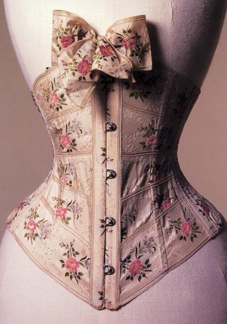 ribbon corset 1