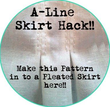 aline skirt hack