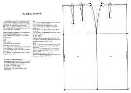 PATTERN CUTTING Basic Skirt Block
