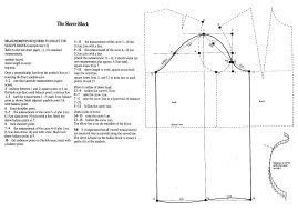 PATTERN CUTTING Sleeve Block
