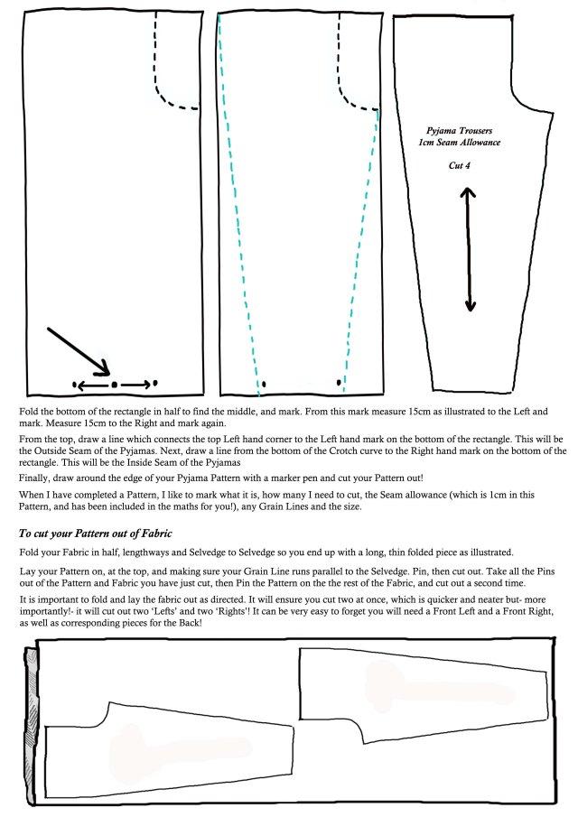 Pyjama Pattern Page 2