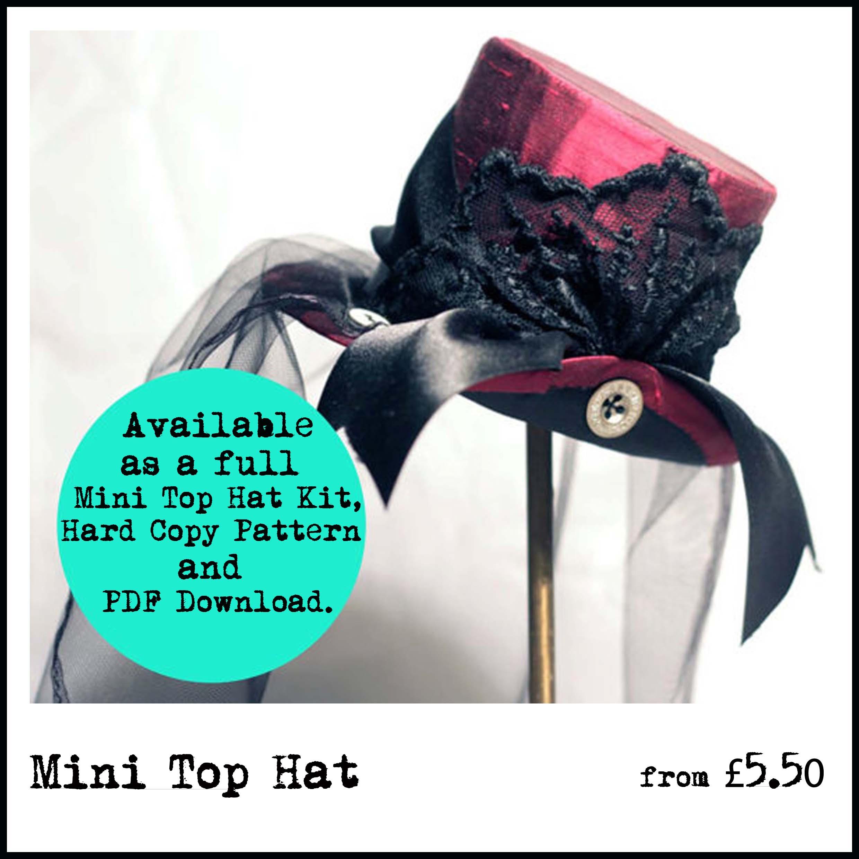 mini top hat icon