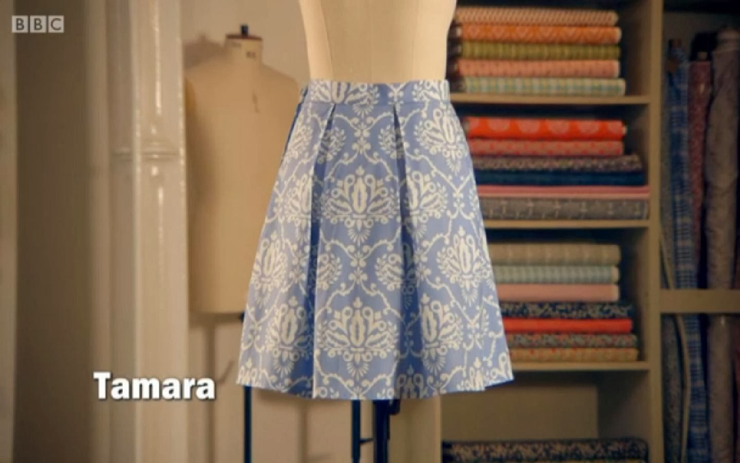 A-Line Skirt hack: Make a Pleated Skirt!